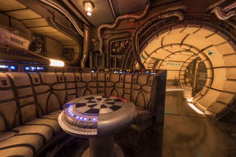 Star Wars: Galaxyís Edge ñ Chess Room in Millennium Falcon: Smugglers Run
