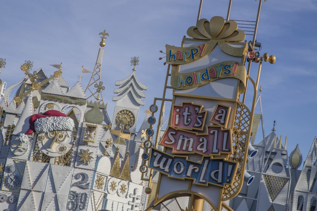 "Holidays at Disneyland Resort – ""it's a small world"" Holiday at Disneyland Park"