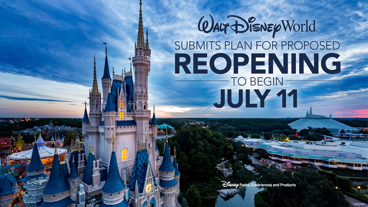 Disneyland Resort Announces Plan for Reopening in July