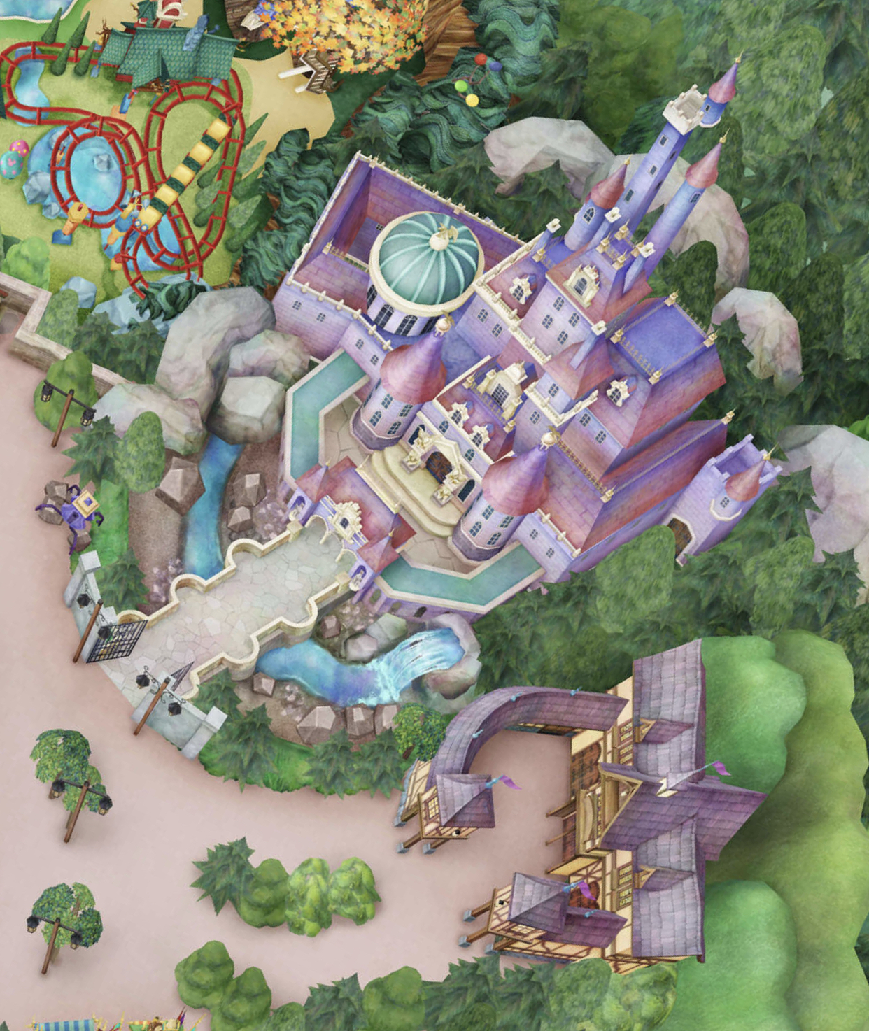 Tokyo Disneyland S Expansion Areas Including The Enchanted Tale Of Beauty And The Beast Soft Open And Have Been Added To The Park Map